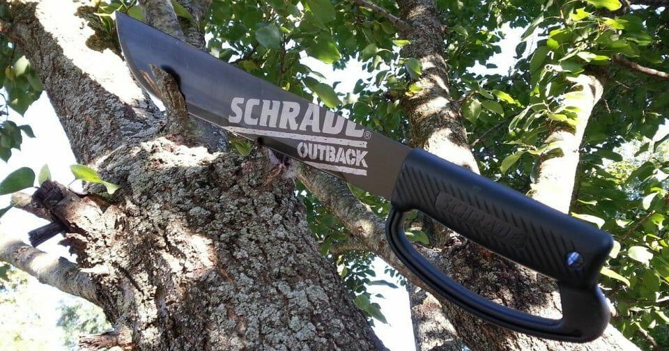 schrade SCMACH18 machete