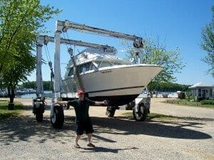 "Boaters are eager to launch in time for Memorial Day, the summer boating season ""kick-off""."