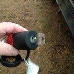 Bolt one key lock