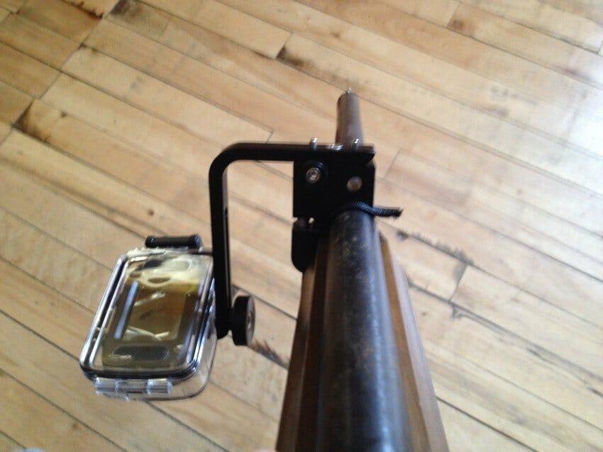 Attach A Cam camera mount used on shotgun