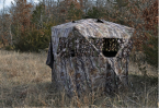Advanced Ground Blind Hunting Tips for Bow hunters