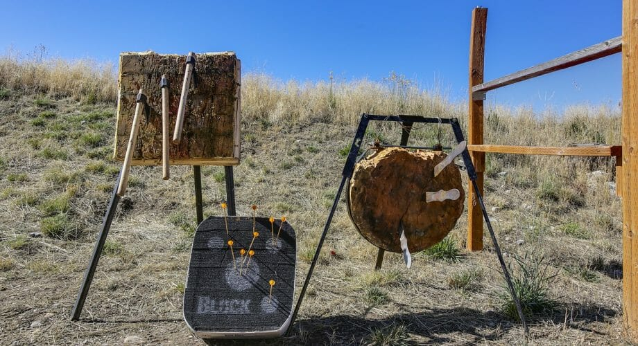 How To Execute Knife Throwing Safely Outside?