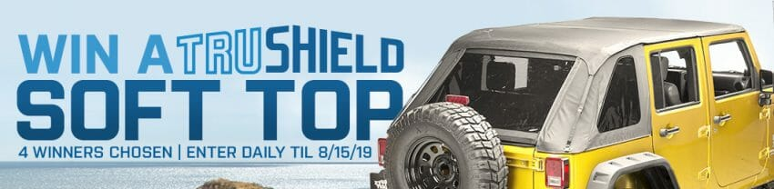 JEEP SOFT TOP GIVEAWAY