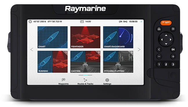 New Raymarine Element HV Sonar/GPS: boating, boating electronics, fishing Fishing & Boating News