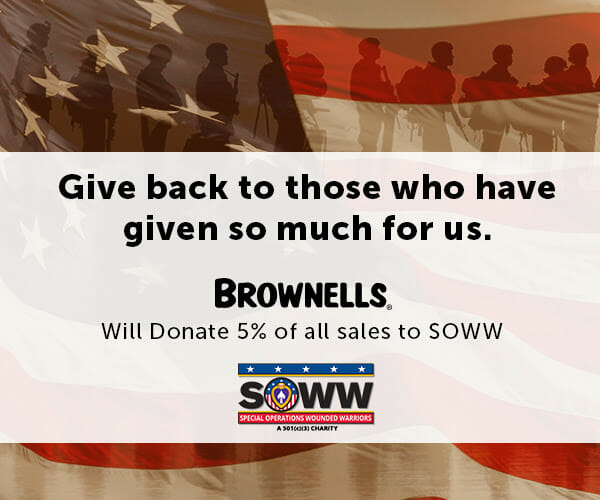 Brownells Donates 5% of July 4th Sales to Veterans Charity firearms Firearms News