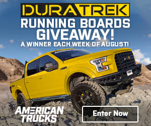 Truck Running Board Giveaway Sponsored by Duratrek truck parts giveawy Automotive News