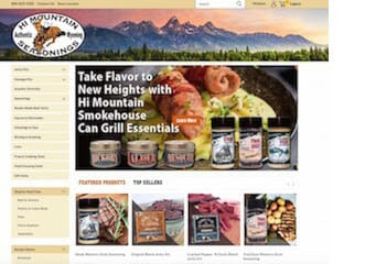 Hi Mountain Seasonings Launches New Website outdoor cooking, spices Outdoors News