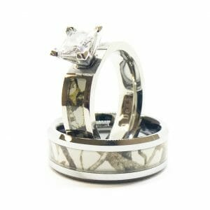 Camo Rings from Southern Sisters Designs camo diamond ring, camo rings Hunting News