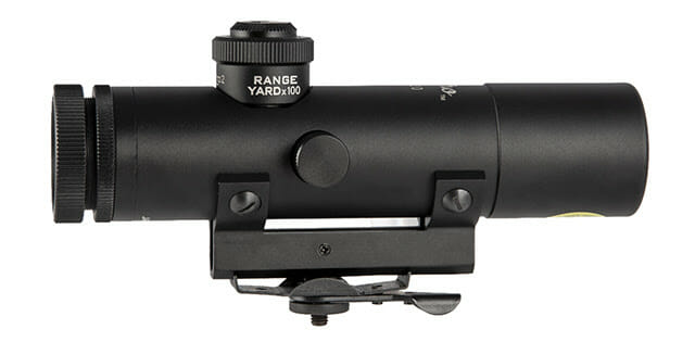 Brownells 4X Retro Optic In-Stock and Shipping scopes, shooting sports Firearms News