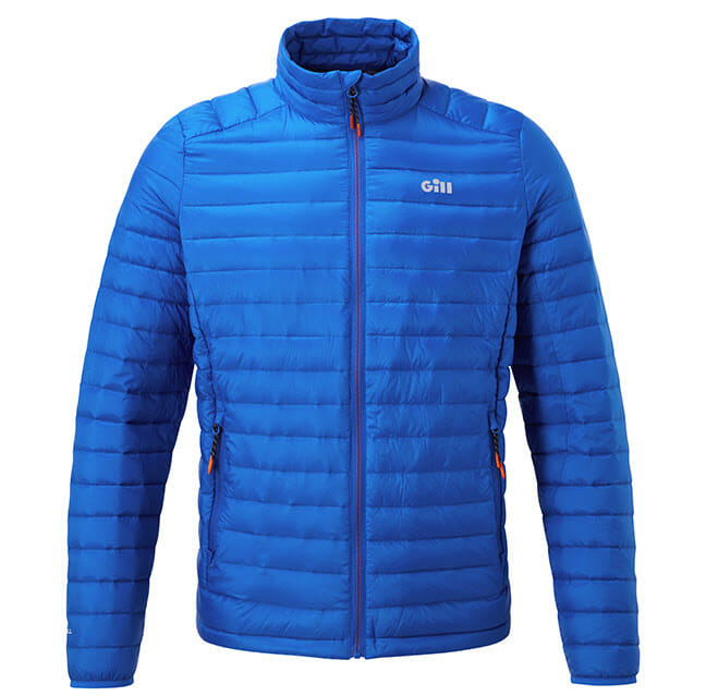 GILL's industry best Hydrophobe Down Jacket boating, fishing, insulated clothing Fishing & Boating News