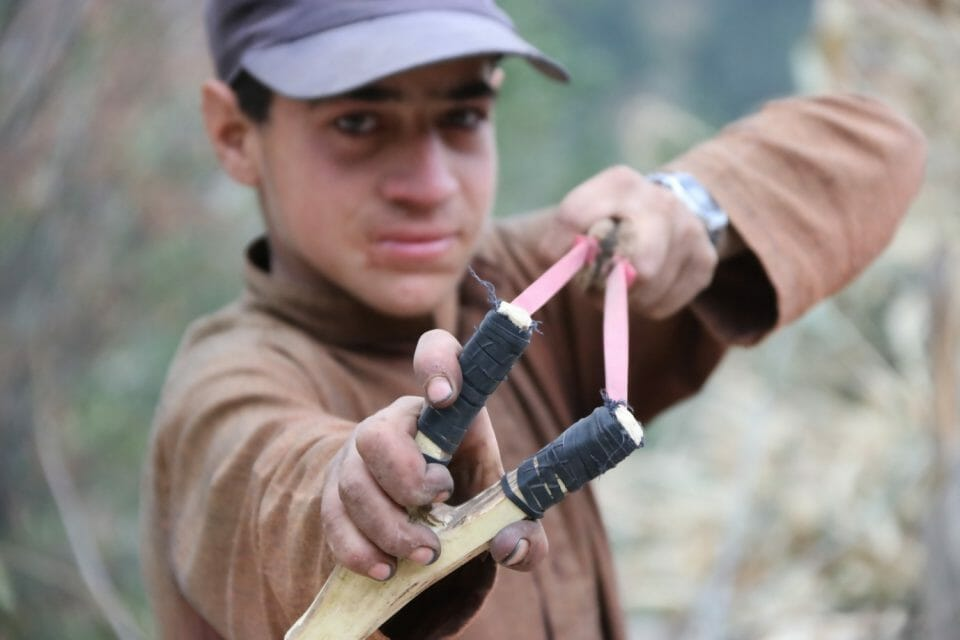 How to Hunt with a Slingshot Hunt with a Slingshot Hunting