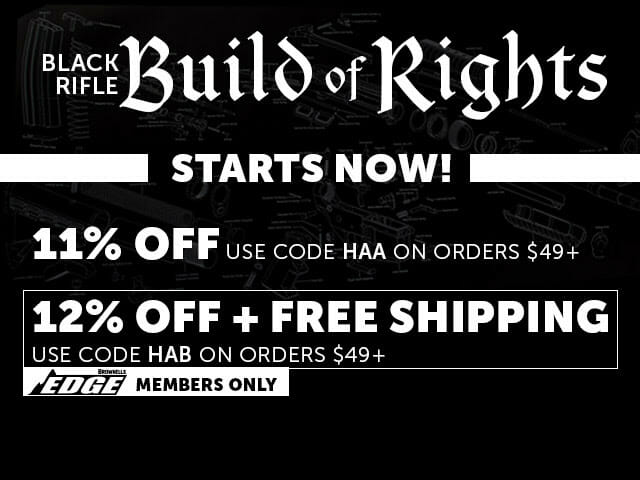 Brownells 2019 Black Rifle Friday Deals Go Hot Monday firearms, rifles Firearms News