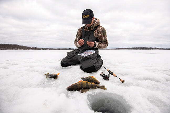 CI32MLXF PERCH SEEKER Ice Rod fishing, ice fishing, ice fishing rods Fishing & Boating News