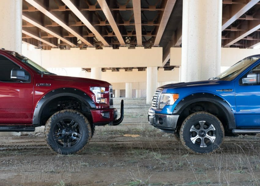 F-150 ground clearance