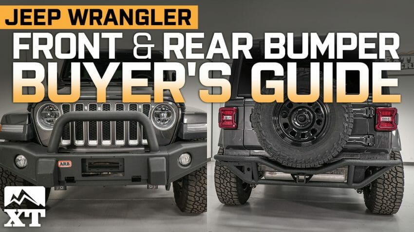 Bumpers for Your Jeep Wrangler