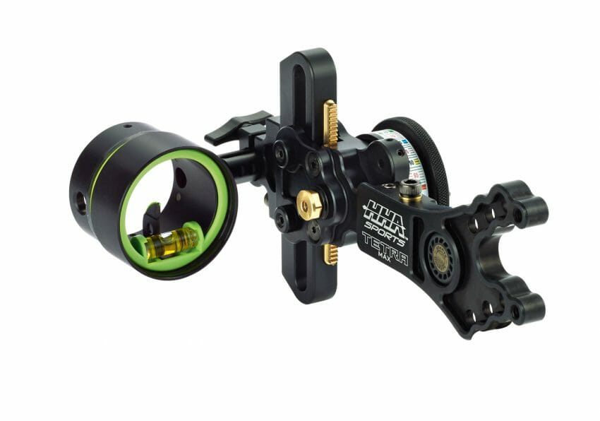 THE HHA SPORTS TETRA MAX BOW SIGHT archery, archery accessories, bowhunting Archery News