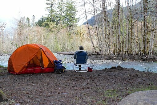 Camping, Tent, Recreation, Outdoors