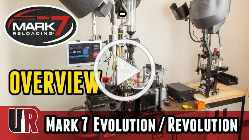 Mark 7 Evolution 10-Stage Manual Loading Machine and Autodrive ammo reloading, shooting sports Firearms News