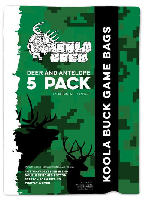 Koola Buck Game Bags Hunting, meat processing Hunting News