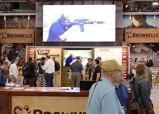 Brownells Announces New Products, Hosts Celebs at SHOT Show 2020 firearm accessories, firearms, shot show 2020 Firearms News