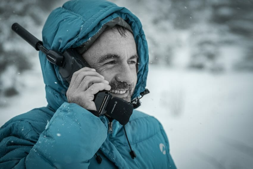 using a Satellite Phone