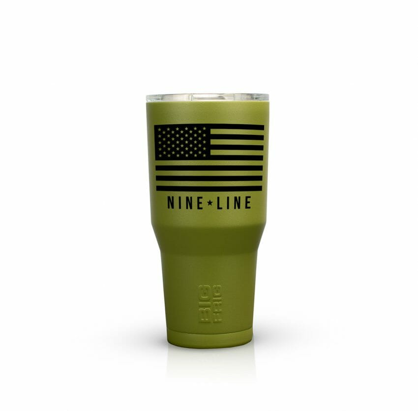 Custom 30oz. Tumbler from Big Frig coolers, great outdoors Outdoors News