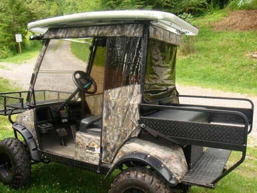 How to Turn Your Golf Cart into An Off-Road Hunting Vehicle