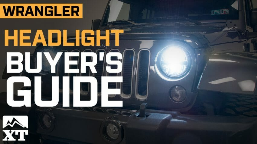 How to Choose Headlights for Your Jeep Wrangler what jeep headlights Automotive News