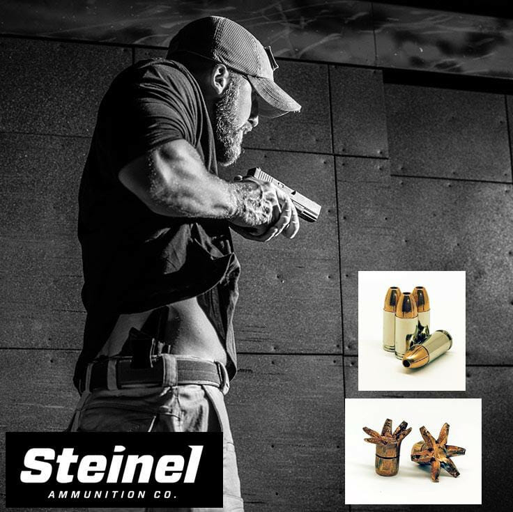 Steinel Ammunition Releases its First Premium 9mm Defensive Load ammo, self defense Firearms News