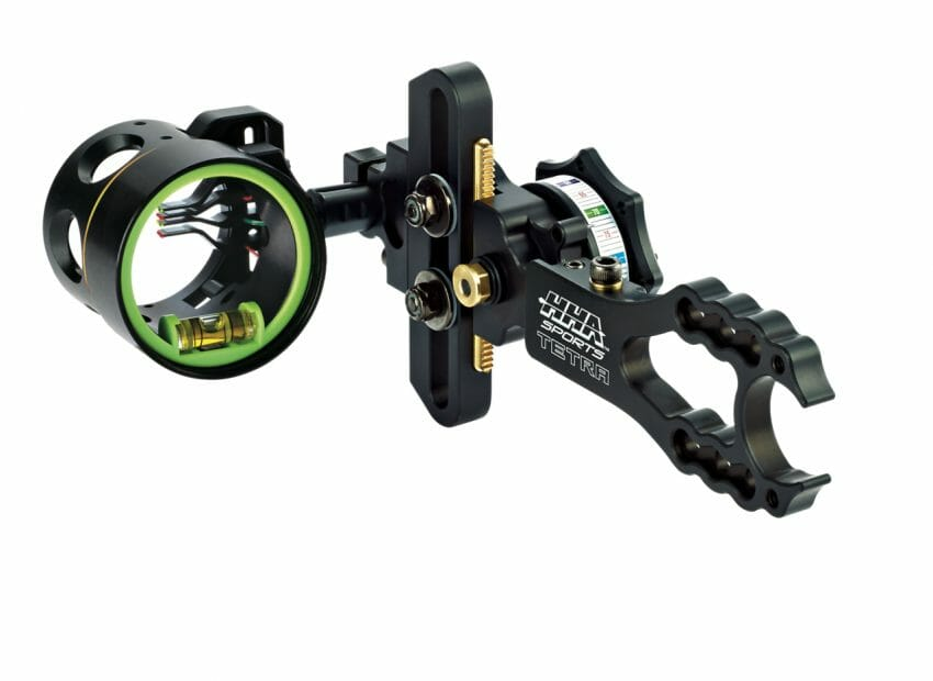 HHA Sports Optimizer Tetra Four-Pin Bow Sights bow accessories, bowhunting Archery News