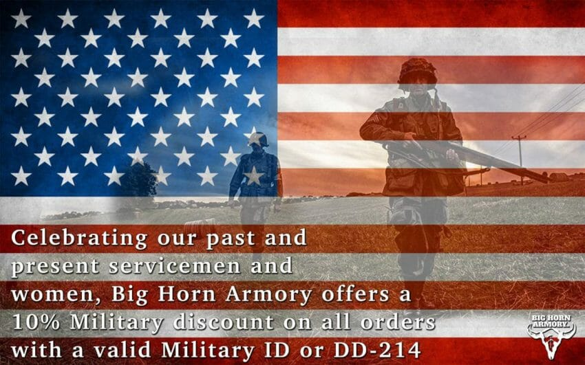 Big Horn Armory (BHA) Honors America's Armed Forces with Military Discount firearms, shooting sports Firearms News