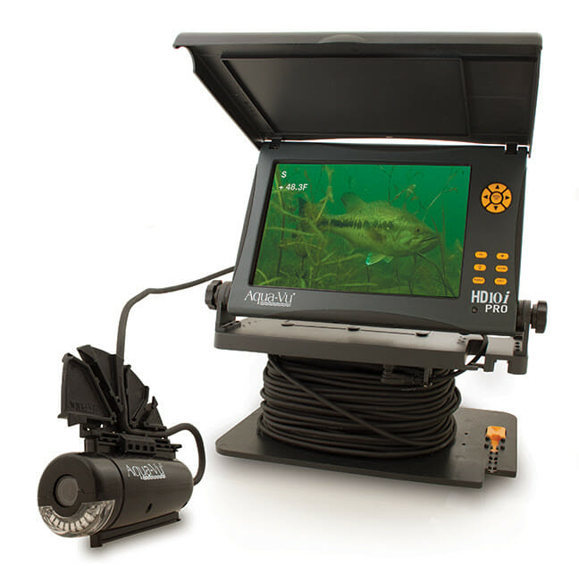 Pole-Cam Prospecting for Bass bass fishing, fishing, underwater cameras Fishing & Boating News