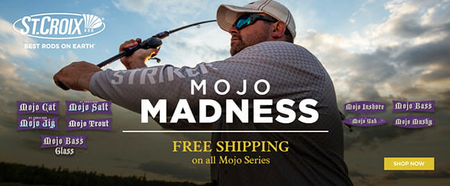 May is Mojo Madness Month! fishing, fishing rods Fishing & Boating News