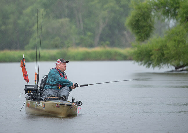 HOBIE B.O.S. EVENT SEES EXCITING ACTION bass fishing, fishing Fishing & Boating News