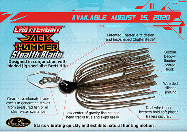 Z-MAN: Ultra-refined JackHammer™ StealthBlade fishing, fishing lures Fishing & Boating News