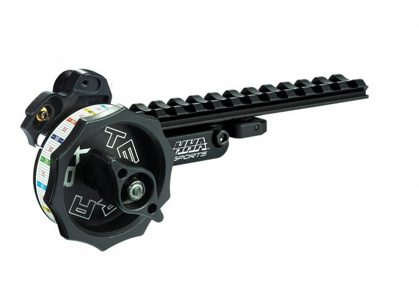 HHA Sports' Tetra XB Crossbow Sight Mount with Scope bowhunting, crossbows Archery News