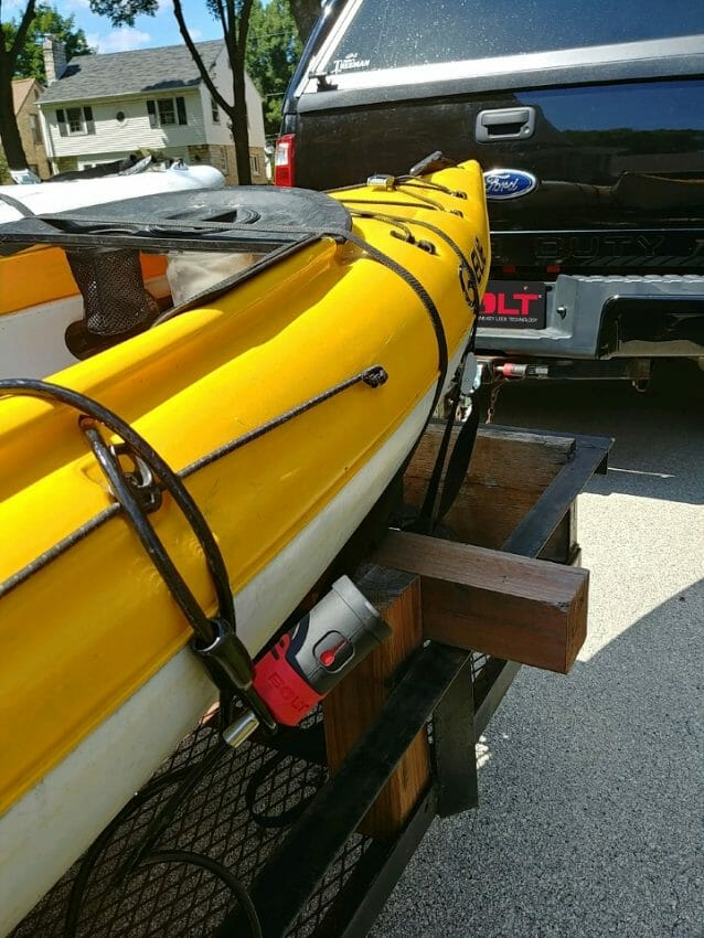 SECURE KAYAKS WITH BOLT CABLE LOCKS SECURE KAYAKS Automotive News