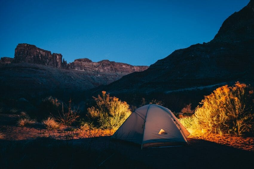 Things to Do While Camping at Night great outdoors Outdoors