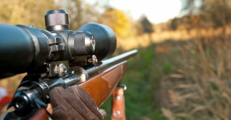 hunting rifle scope zeroing