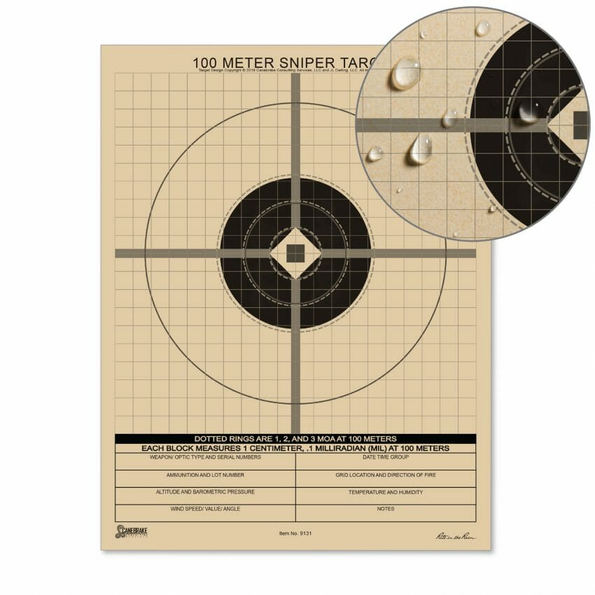 All-Weather 100M Sniper Target shooting sports, targets Outdoors News