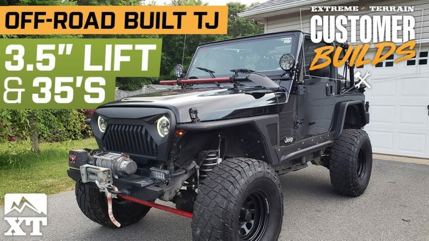 Get Your #Jeep in the Spotlight | Lifted 2003 Jeep TJ  Automotive News