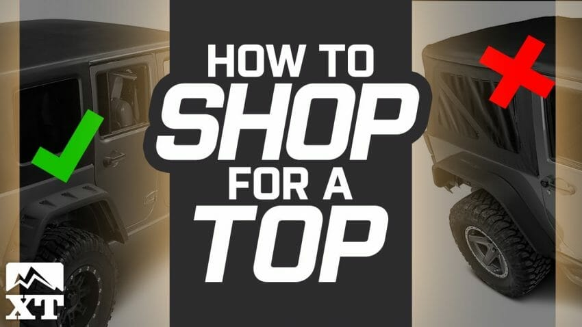 How to Shop #Jeep Tops | New Video Automotive News
