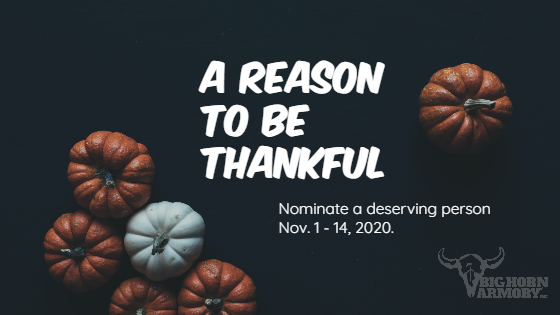 Big Horn Armory Unveils A Reason to be Thankful Campaign guns Firearms News