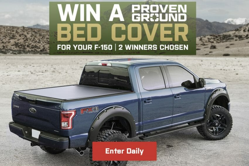 AmericanTrucks Launches F150 Bedcover Sweeps sweepstakes Automotive News