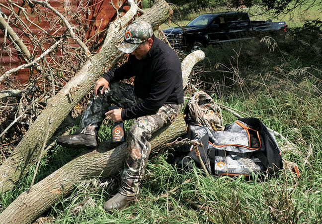 Hunting: Addressing the Mobile Scent Bomb Hunting, scent control Hunting News