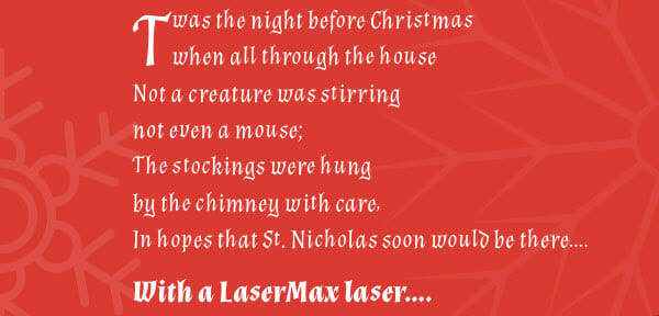 Give Confidence To Your Loved Ones This Holiday laser sights Firearms News