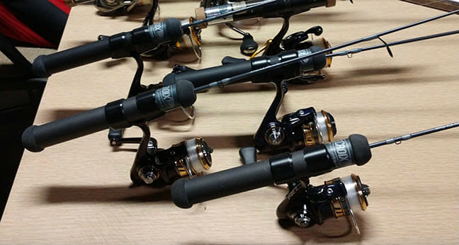 Hardwater Pride and Performance fishing rods, ice fishing Fishing & Boating News