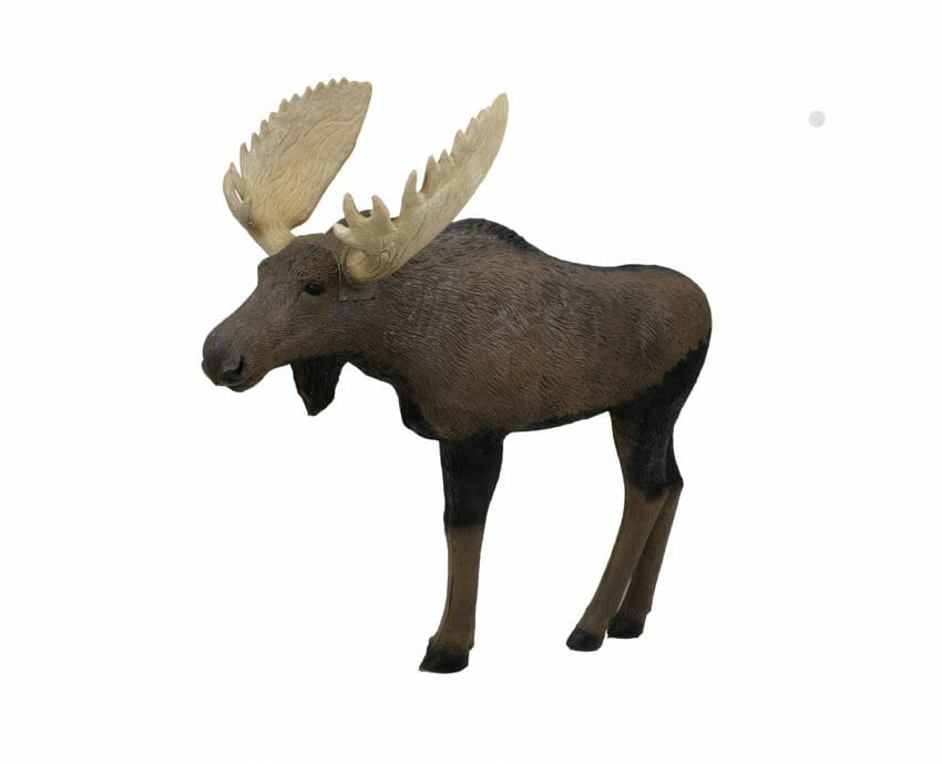 New 1/3-Scale Moose Target by Rinehart Targets 3D targets, archery, archery targets Archery News