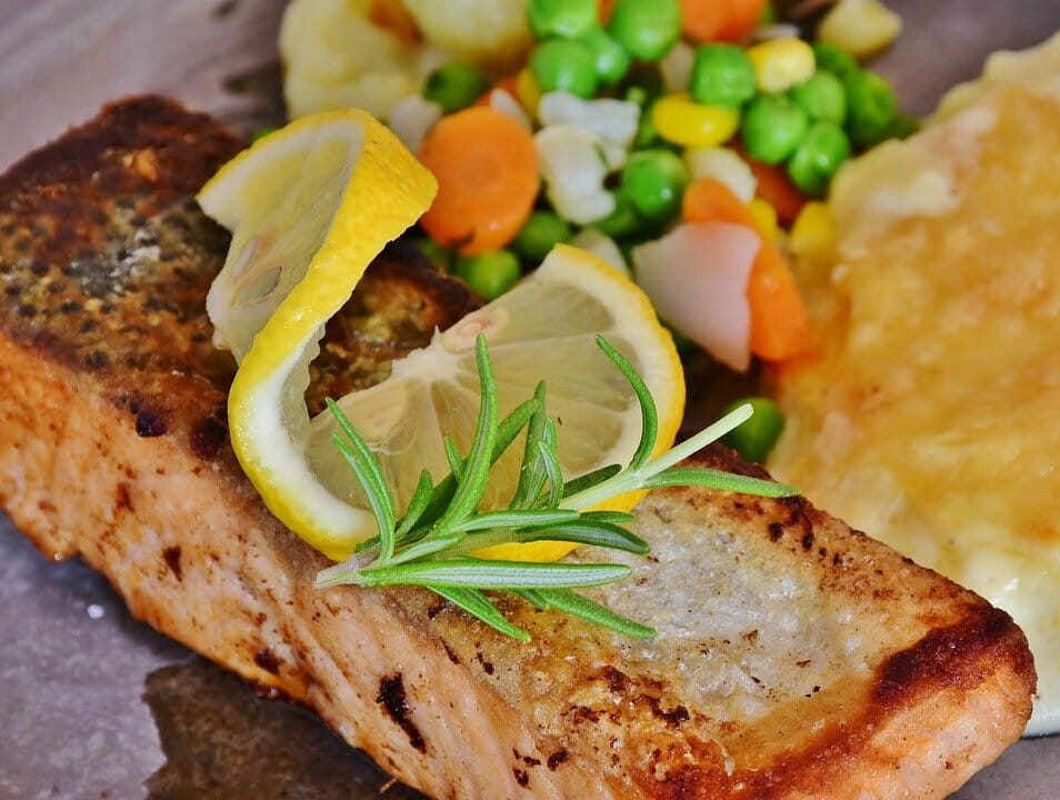 Salmon, Fish, Salmon Fillet, Fresh, Healthy, Meal