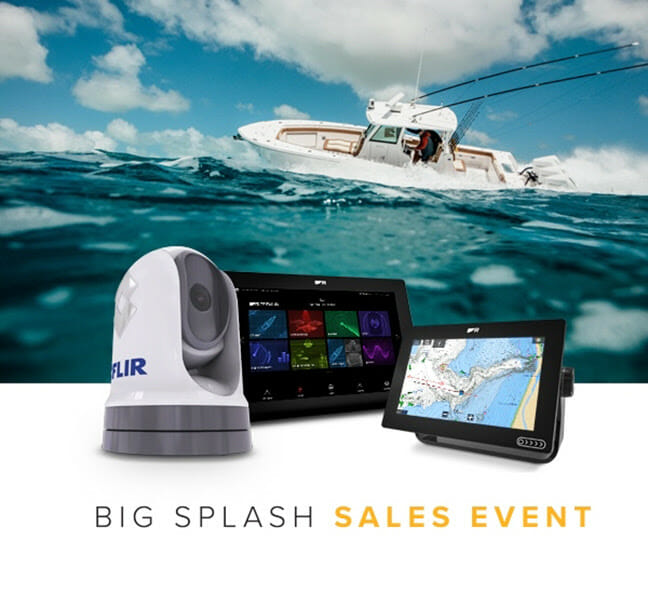 Marine Electronics: Save Cash Before the Spring Splash boating, boating electronics Fishing & Boating News